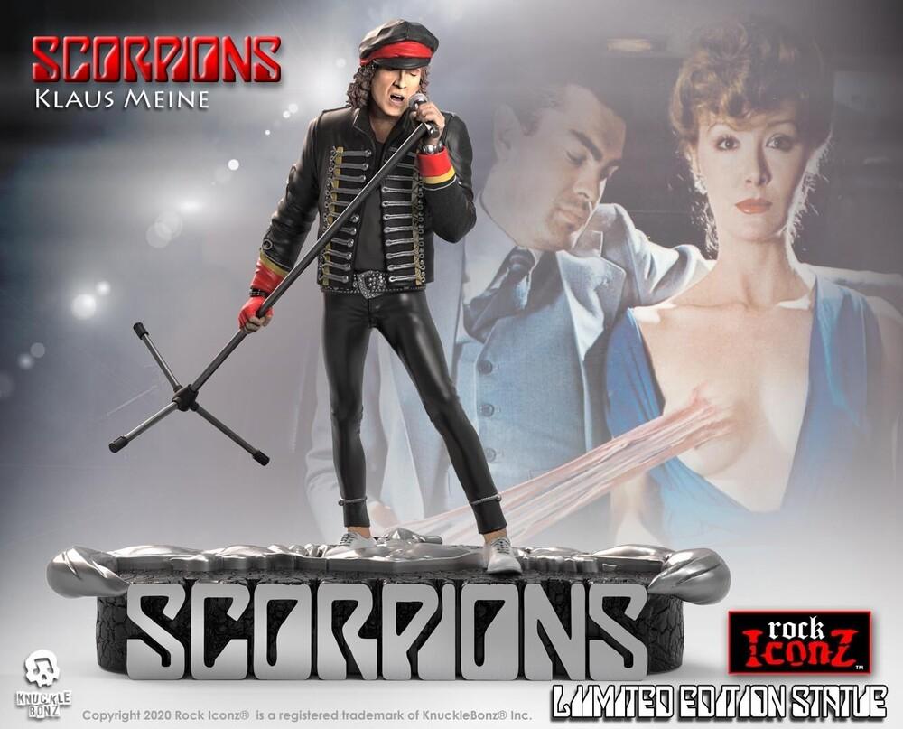 - Knucklebonz - Scorpions - Klaus Meine Rock Iconz