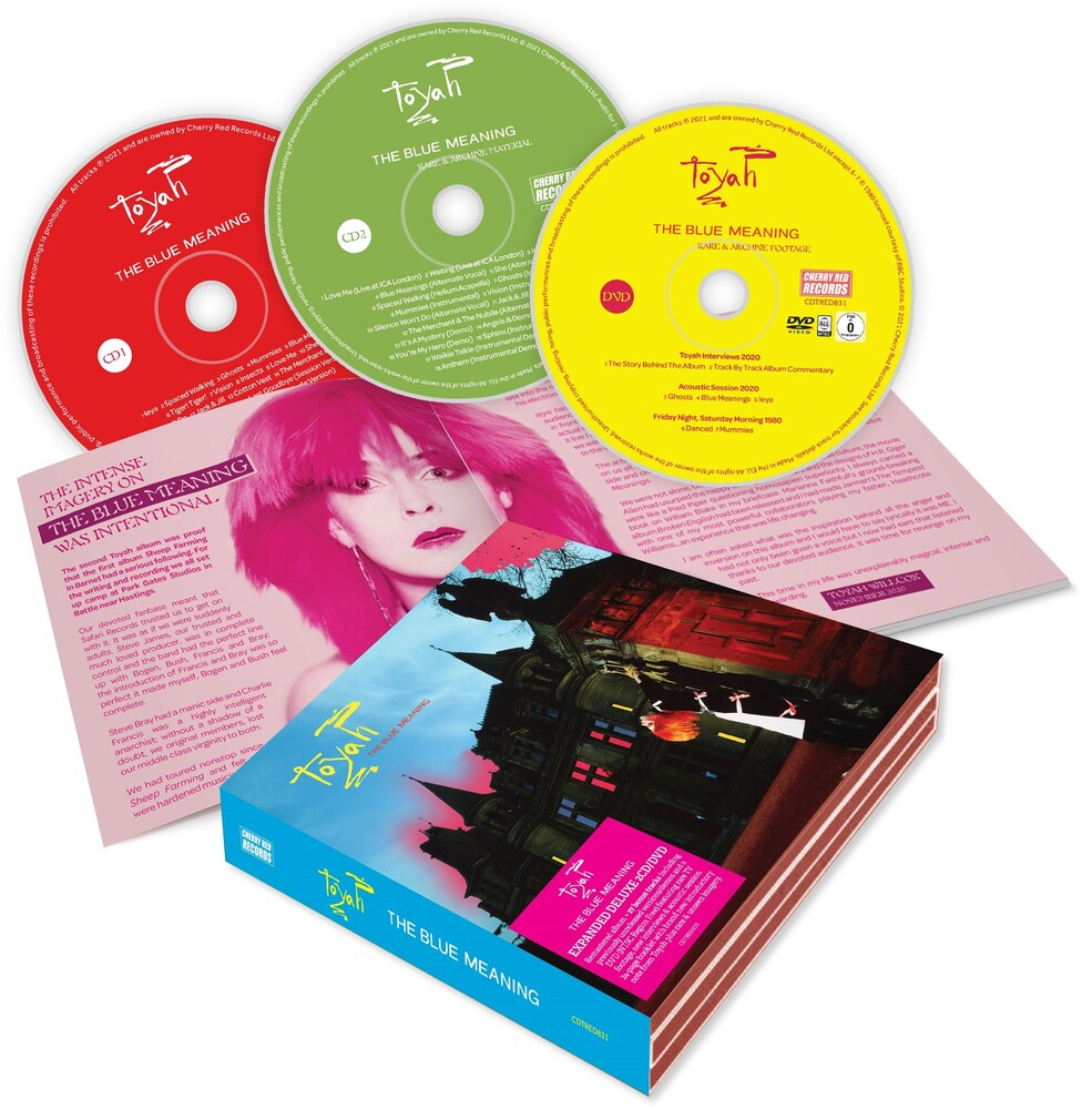 Toyah - Blue Meaning (W/Dvd) [Deluxe] (Ntr0) (Uk)