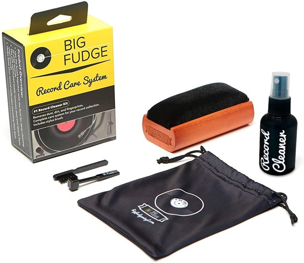 - Big Fudge Bfrc101us 4/1 Rcrd Care And Cleaning Kit