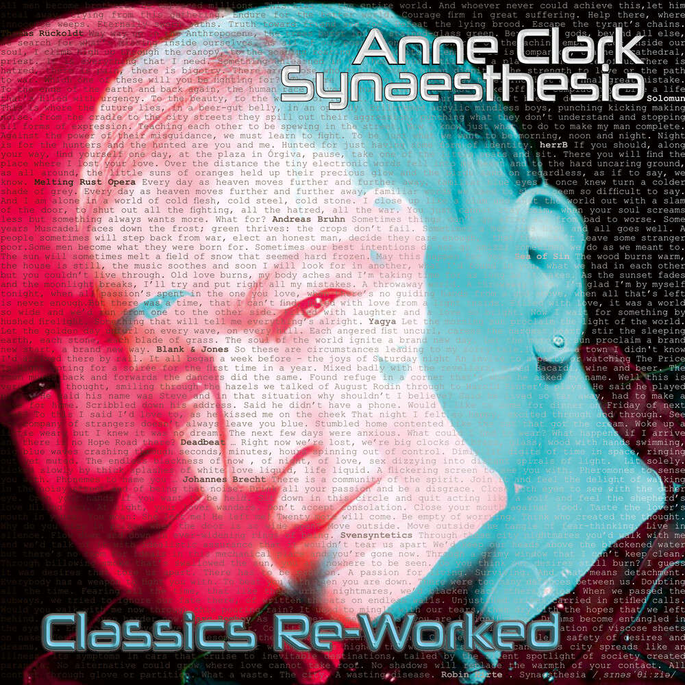 Anne Clark - Synaesthesia - Anne Clark Classics Reworked