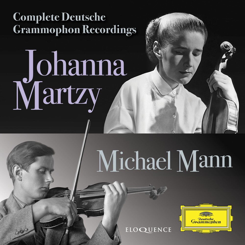 Johanna Martzy  / Mann,Michael - Complete Deutsche Grammophon Recordings (Aus)