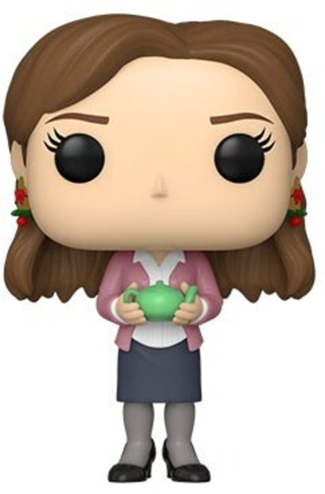 - The Office- Pam W/Teapot & Note (Vfig)
