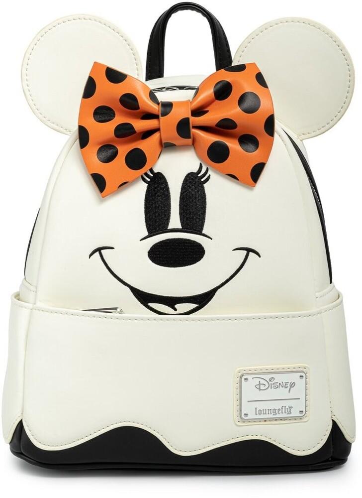 Loungefly Disney: - Ghost Minnie Glow In The Dark Cosplay Mini Backpac