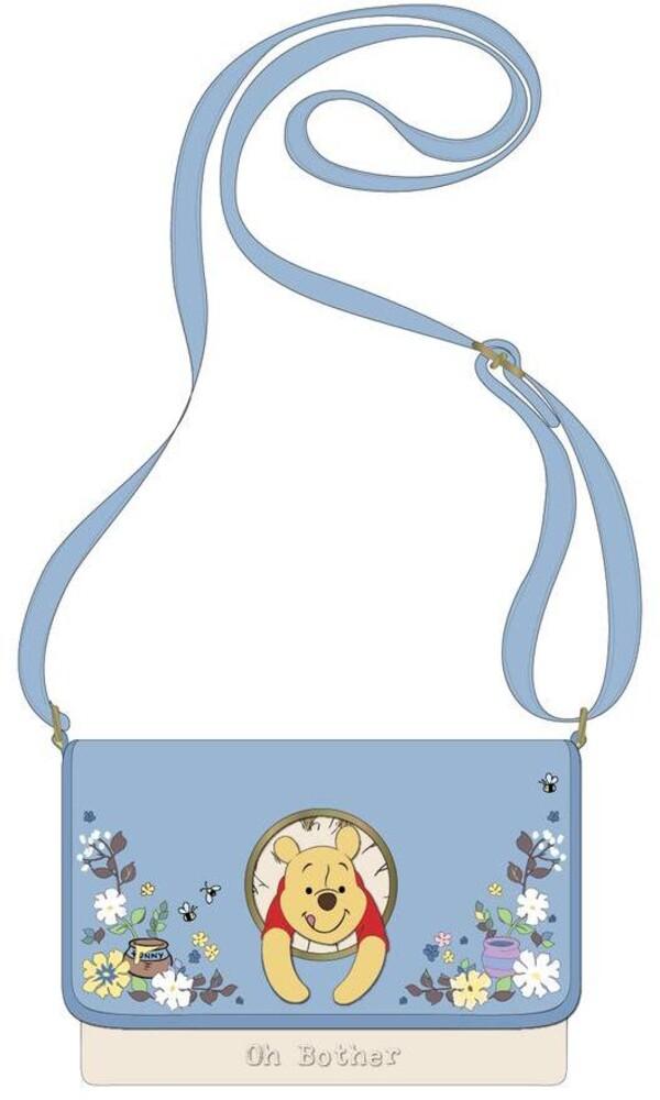 Loungefly Disney: - Winnie The Pooh 95th Anniversary Peek A Pooh Cross