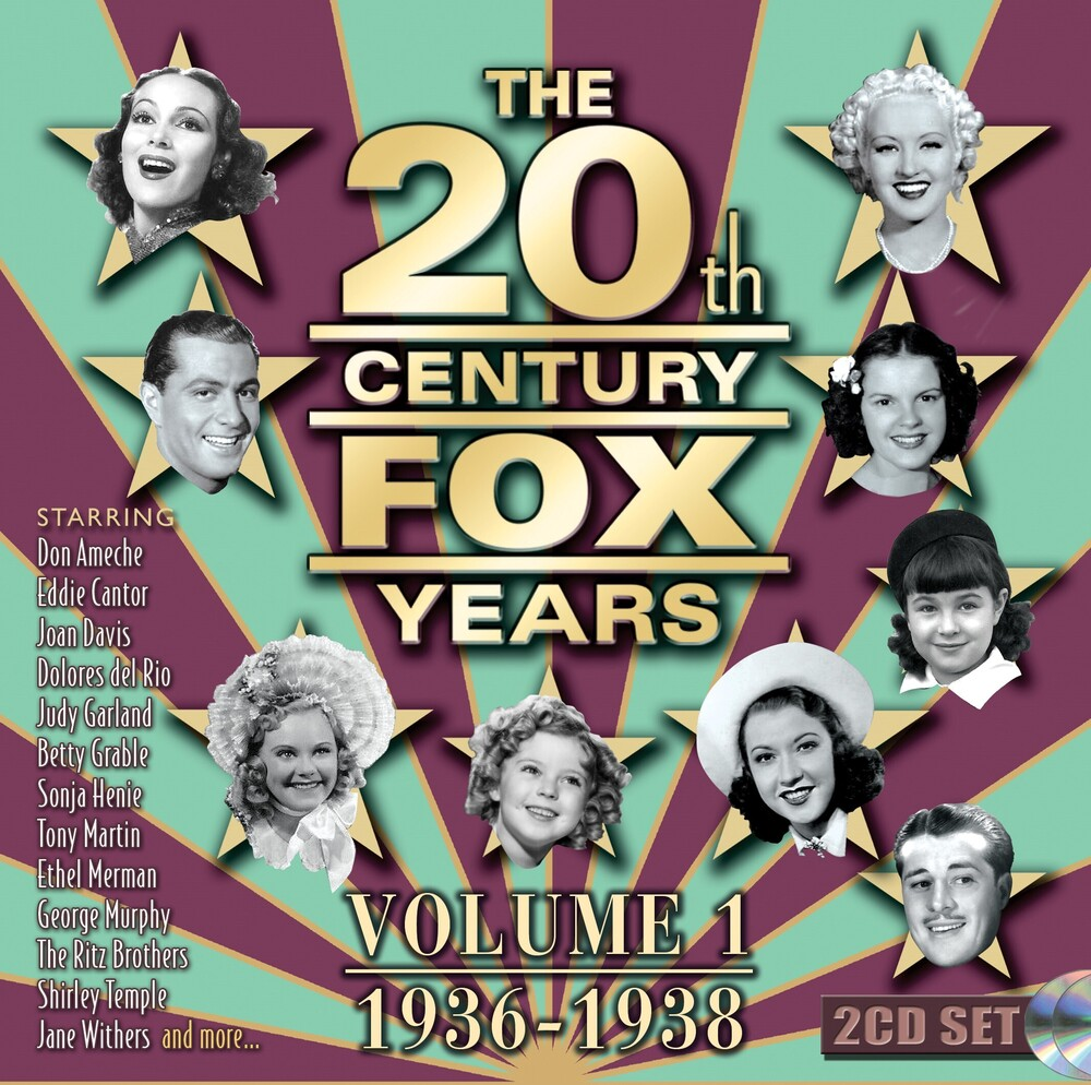 - 20th Century Fox Years Volume 1 (1936-1938) (Various Artists)