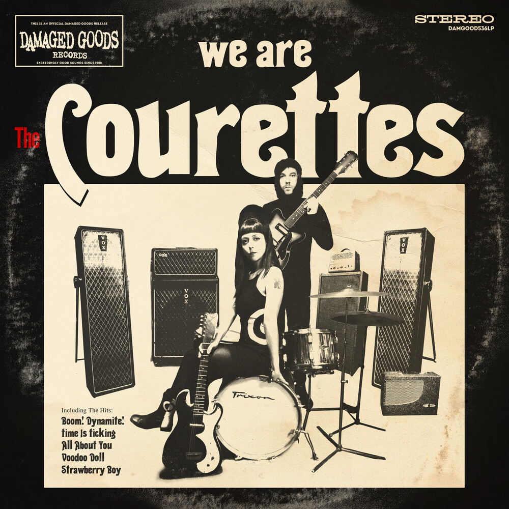 Courettes - We Are The Courettes [Clear Vinyl] [Limited Edition] (Red) [Remastered]