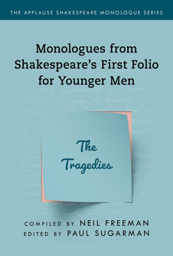 Neil Freeman - Shakespeares Monologues For Younger Men Tragedies