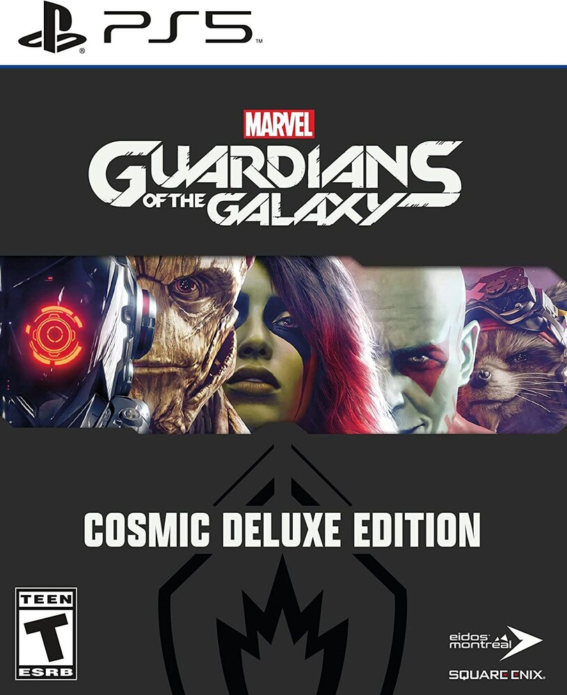 Ps5 Marvel's Guardians of the Galaxy - Deluxe Ed - Marvel's Guardians of the Galaxy Deluxe Edition for PlayStation 5