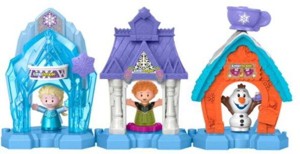 Little People - Little People Frozen Snowflake Village Asrt (Fig)