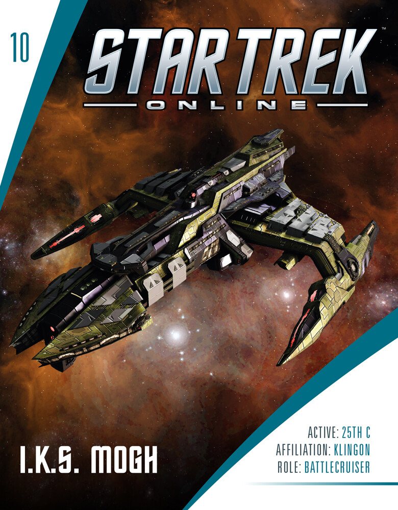 Star Trek Starships - Star Trek Starships - Mogh-Class Klingon Battlecru