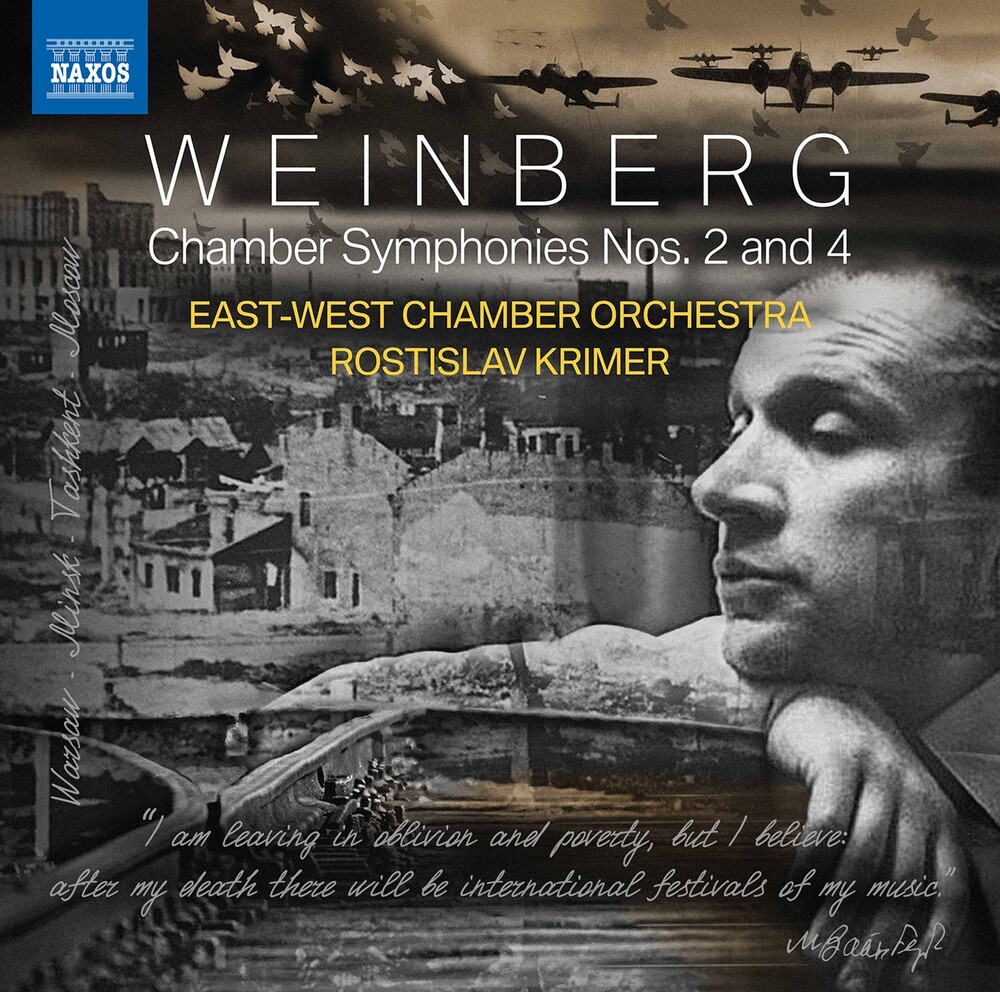 Weinberg / East-West Chamber Orch / Krimer - Chamber Symphonies 2 & 4