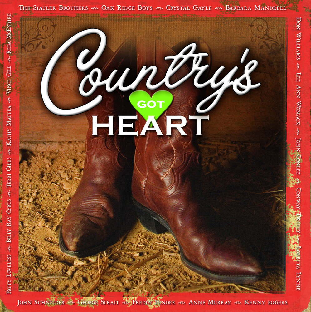 Time Life's Country's Got Heart 9cd / Various - Time Life's Country's Got Heart 9cd / Various