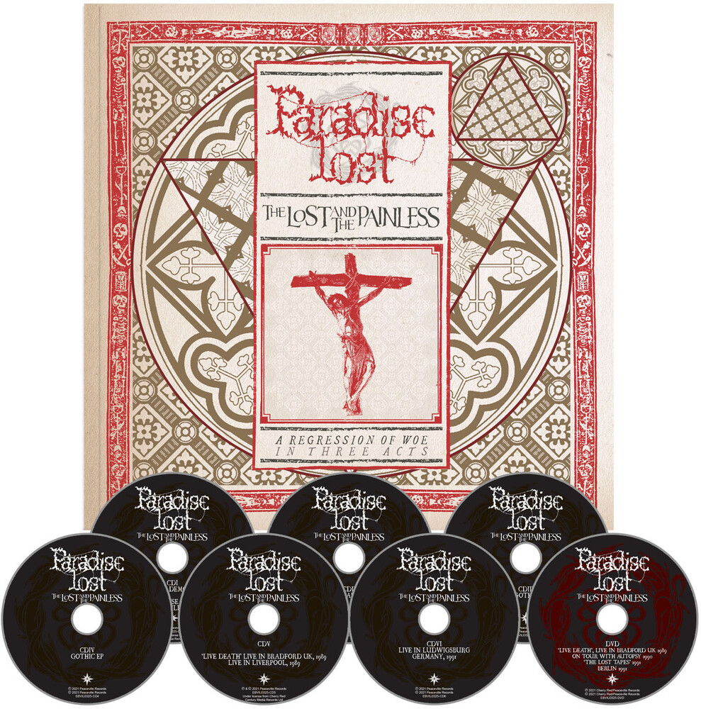 Paradise Lost - Lost & The Painless (6CD+DVD Box Set)