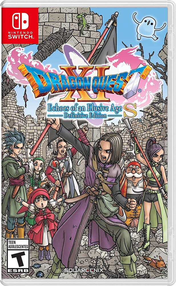 Swi Dragon Quest Xi S: Echoes of an Elusive Age De - Dragon Quest XI S: Echoes of an Elusive Age - Definitive Edition forNintendo Switch
