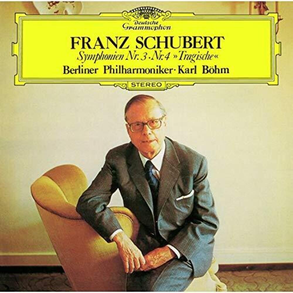 Schubert / Karl Bohm - Schubert: Symphonies 3 & 4 [Remastered] (Shm) (Jpn)