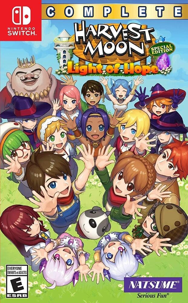 - Harvest Moon: Light of Hope SE Complete for Nintendo Switch