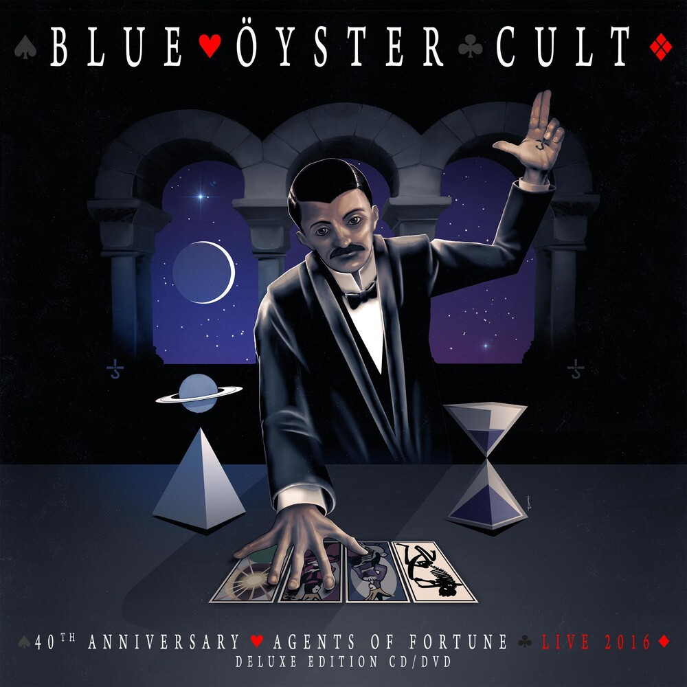 Blue Oyster Cult - 40th Anniversary - Agents Of Fortune - Live 2016 [CD/DVD]
