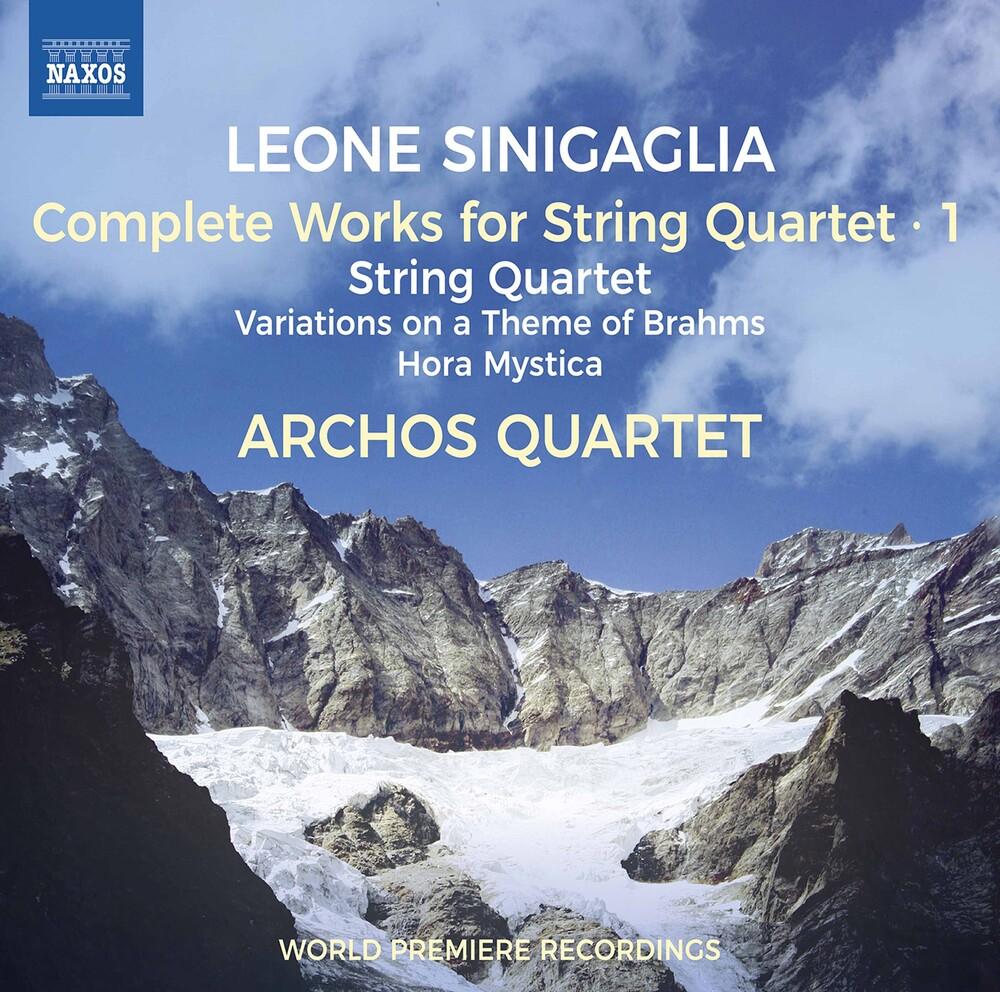 Sinigaglia / Archos Quartet - Complete String Quartet 1