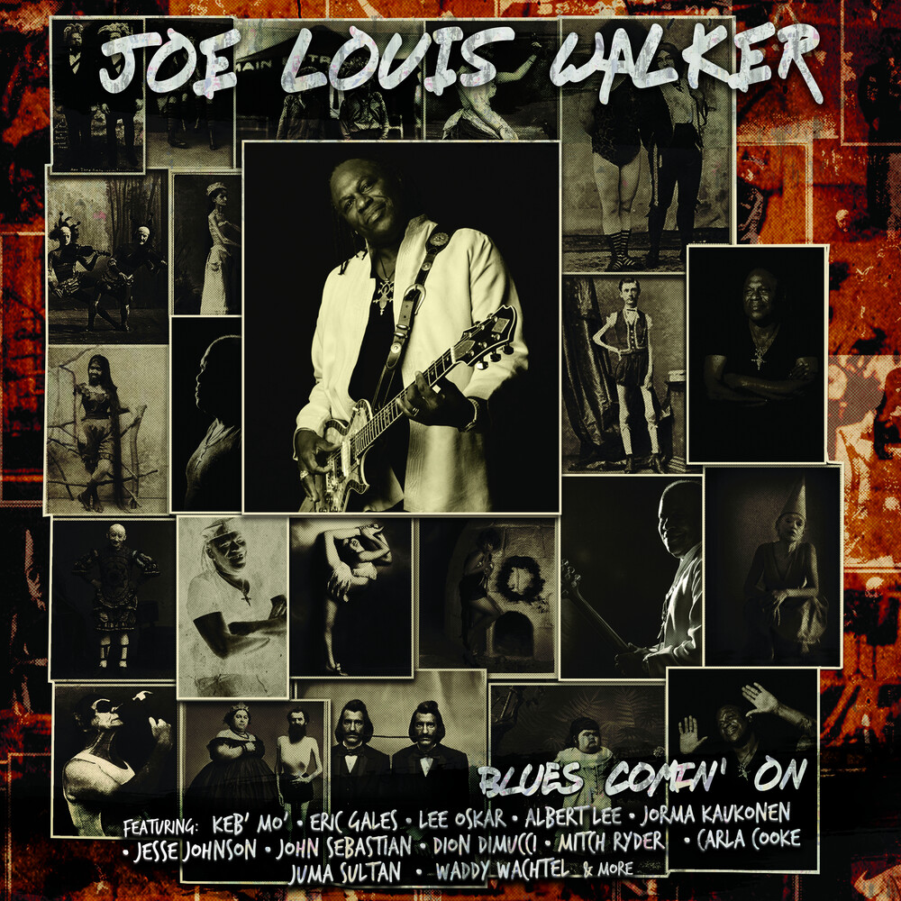Joe Louis Walker - Blues Comin' On [Limited Edition White LP]