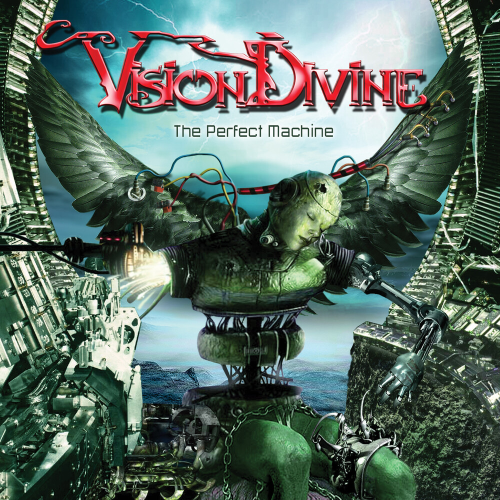 Vision Divine - Perfect Machine [Digipak]