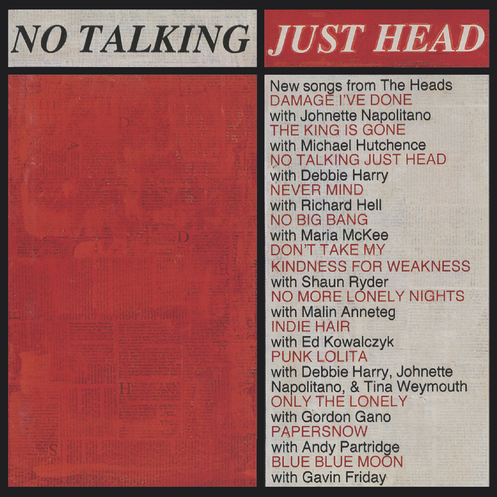 Heads - No Talking Just Head (Hol)