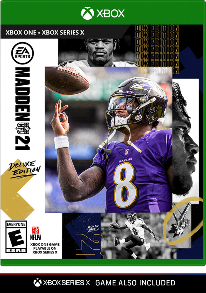 Xb1 Madden NFL 21 - Deluxe Edition - Xb1 Madden Nfl 21 - Deluxe Edition
