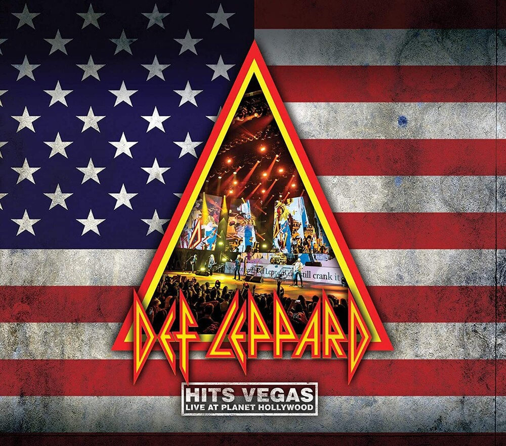 Def Leppard - Hits Vegas - Live At Planet Hollywood [Limited Edition 2CD]