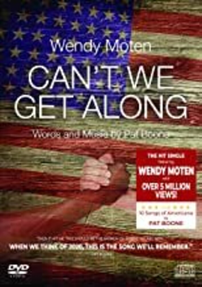 Moten, Wendy / Boone, Pat - Can't We Get (2pc) (W/Cd)