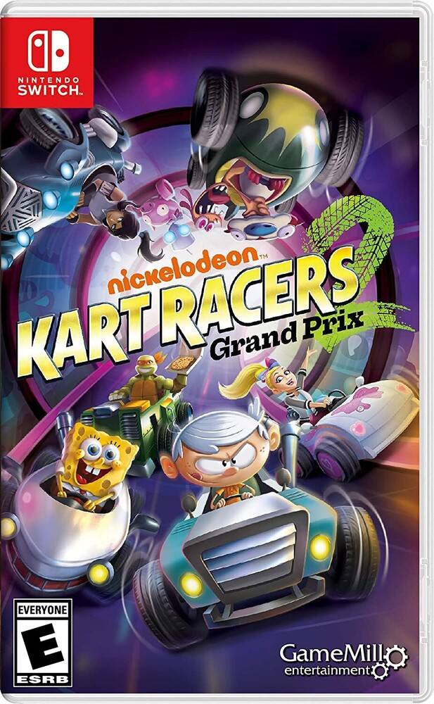 - Swi Nickelodeon Kart Racers 2: Grand Prix