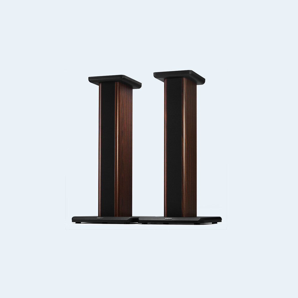 - Edifier 4005015 SS02C S2000MKIII Speaker Stands Pair 26.5 Inches WoodGrain (Brown/Black)