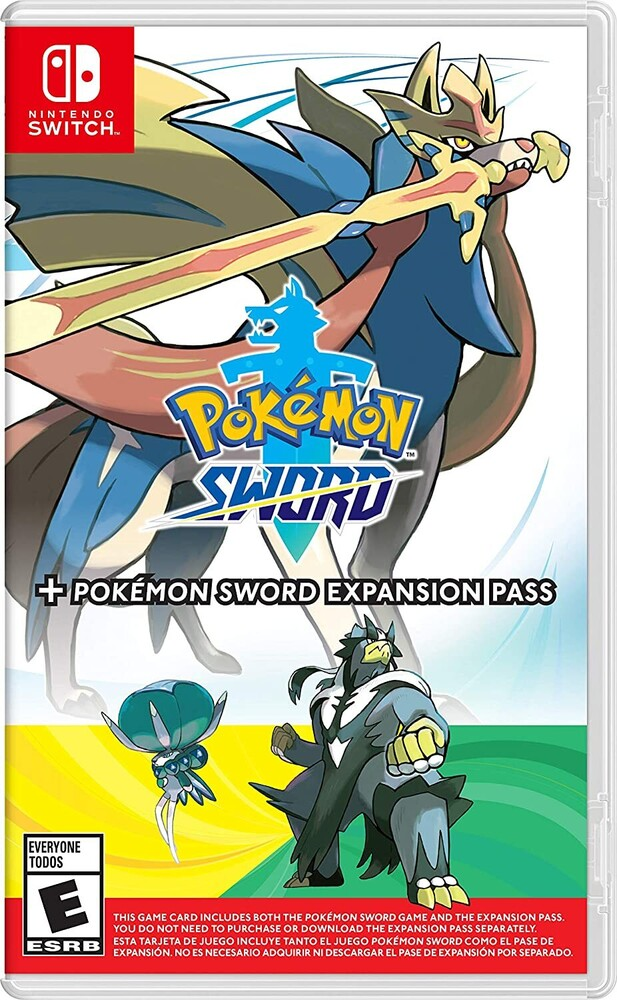 Swi Pokemon Sword + Sword Expansion - Pokemon Sword + Pokemon Sword Expansion Pass for Nintendo Switch