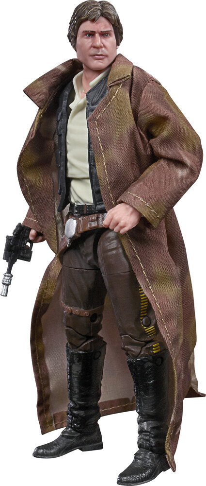 SW Bl E6 Han Solo - Hasbro Collectibles - Star Wars Black Series Han Solo
