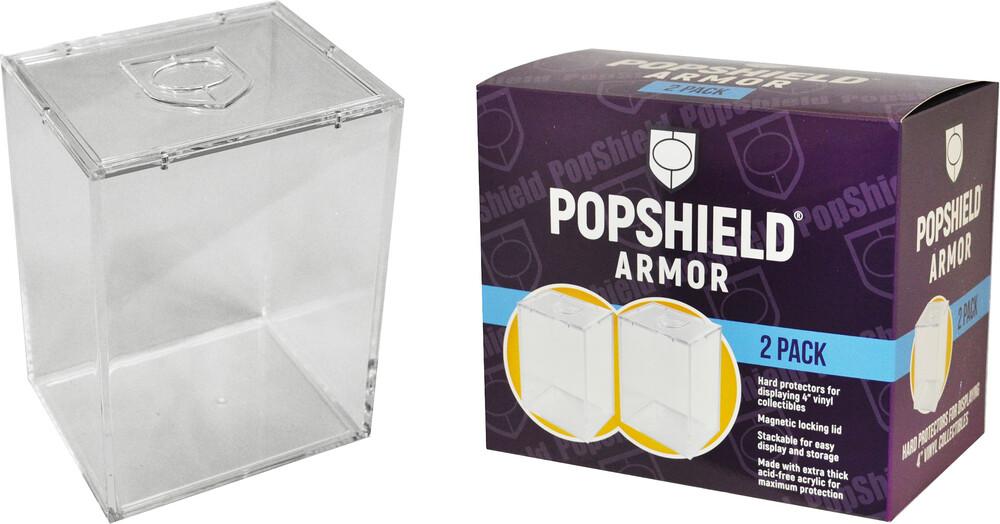 Popshield Armor Funko Pop! Hard Protectors 2-Pack - PopShield Armor Funko Pop! Hard Protectors 2-Pack