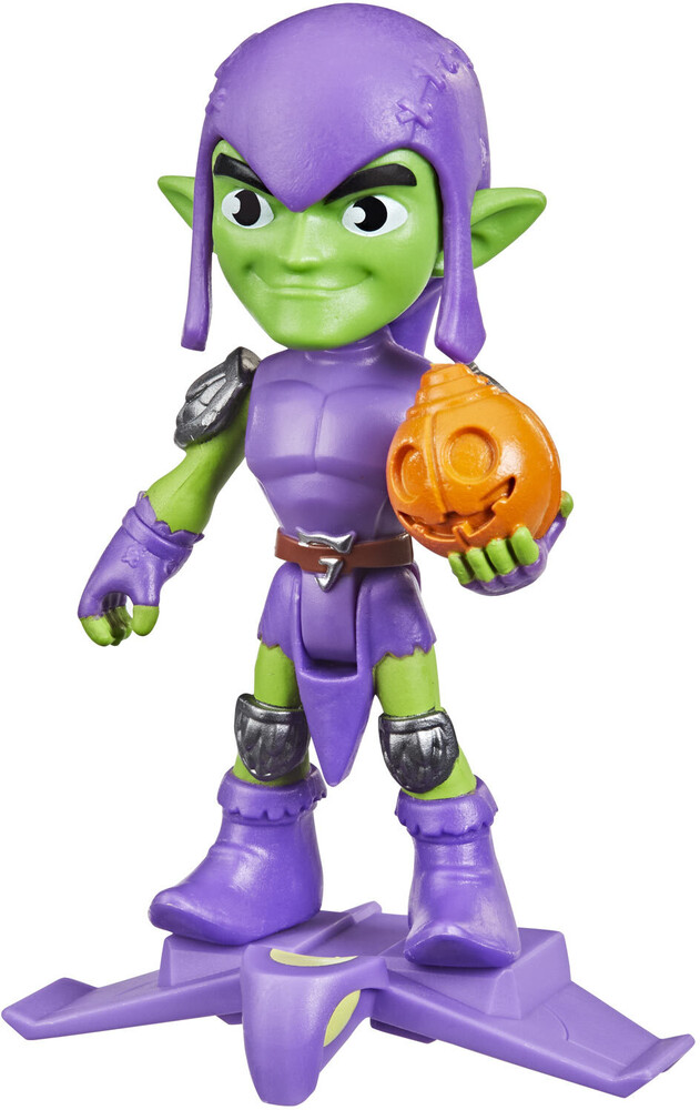 Saf Green Goblin Figure - Hasbro Collectibles - Spidey And His Amazing Friends Green GoblinFigure
