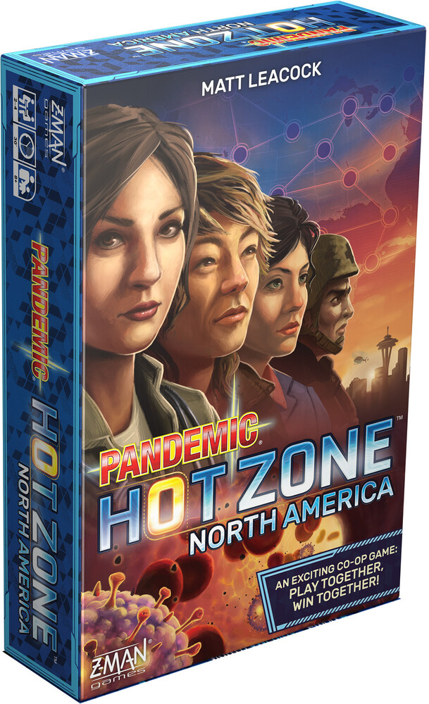Pandemic Hot Zone North America - Pandemic Hot Zone North America