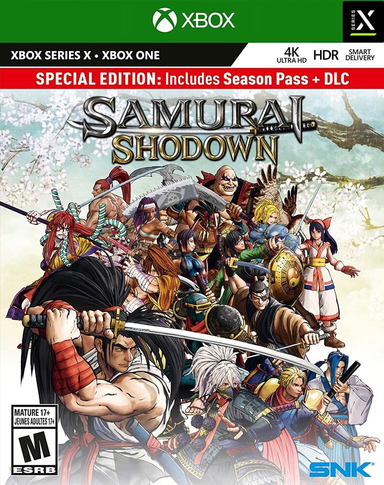 Xb1/Xbx Samurai Shodown Enhanced - Samurai Shodown Enhanced for Xbox One and Xbox Series X