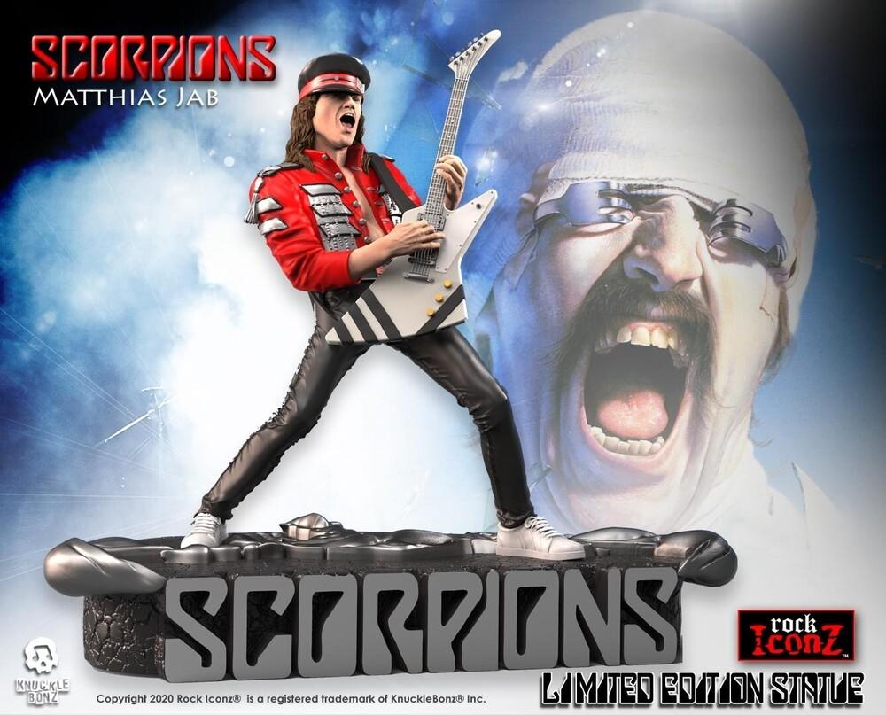 - Knucklebonz - Scorpions - Matthias Jabs Rock Iconz