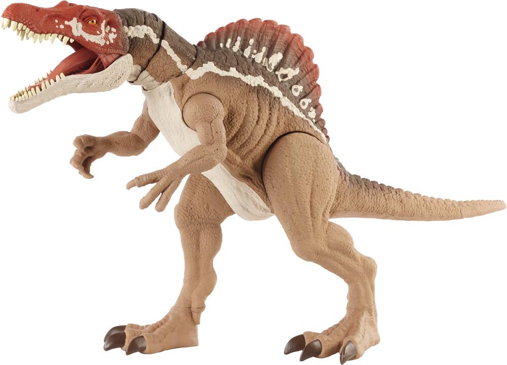- Mattel - Jurassic World Extreme Chompin' Spinosaurus