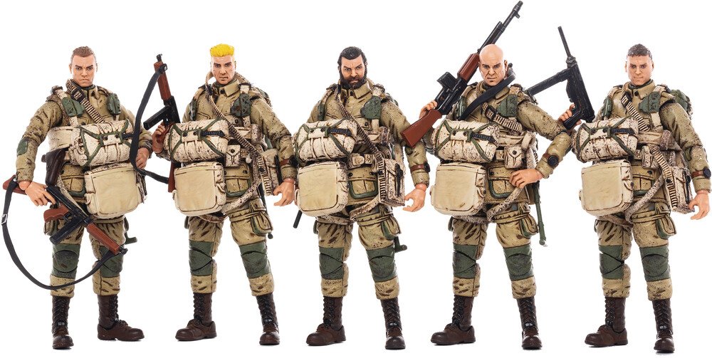 - Joy Toy Wwii U.S. Army Airborne Division 1/18 5pk