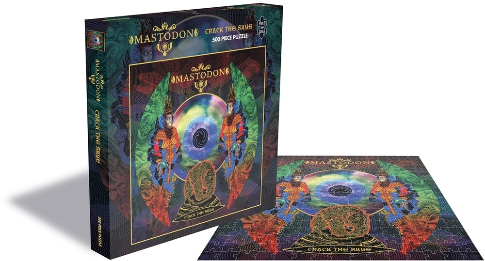 - Mastodon Crack The Skye (500 Piece Jigsaw Puzzle)