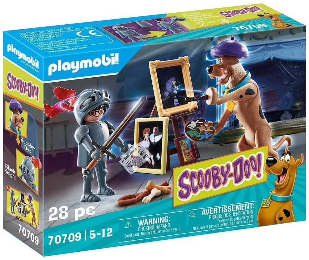 Playmobil - Scooby Doo Adventure With Black Knight (Fig)