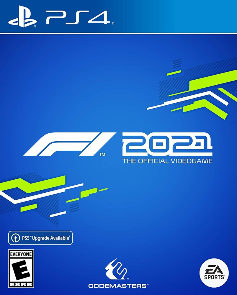 - F1 2021 for PlayStation 4