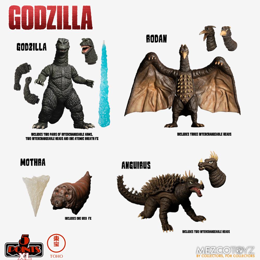 - Godzilla: Destroy All Monsters (1968) Round 1 Set