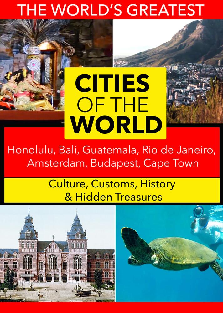 - Cities of the World: Honolulu, Bali, Guatemala, Rio de Janeiro, Amsterdam, Budapest, Cape Town