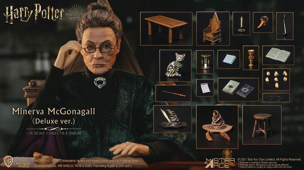 - Hp & The Sorcerers Stone Minerva Mcgonagall 1/6 Af