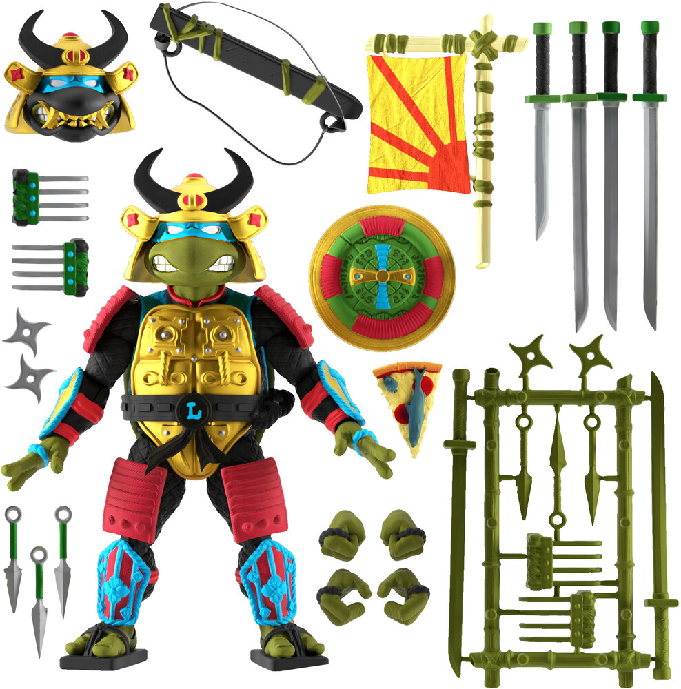 - Tmnt Ultimates! Wave 5 - Leo The Sewer Samurai