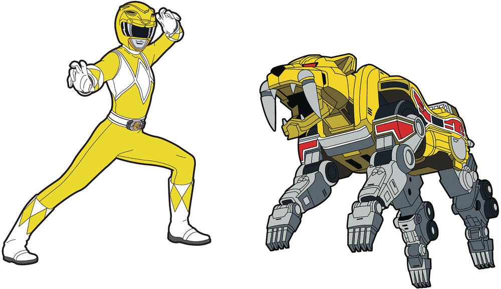 - Power Rangers Yellow Ranger X Sabertooth Tiger Zor