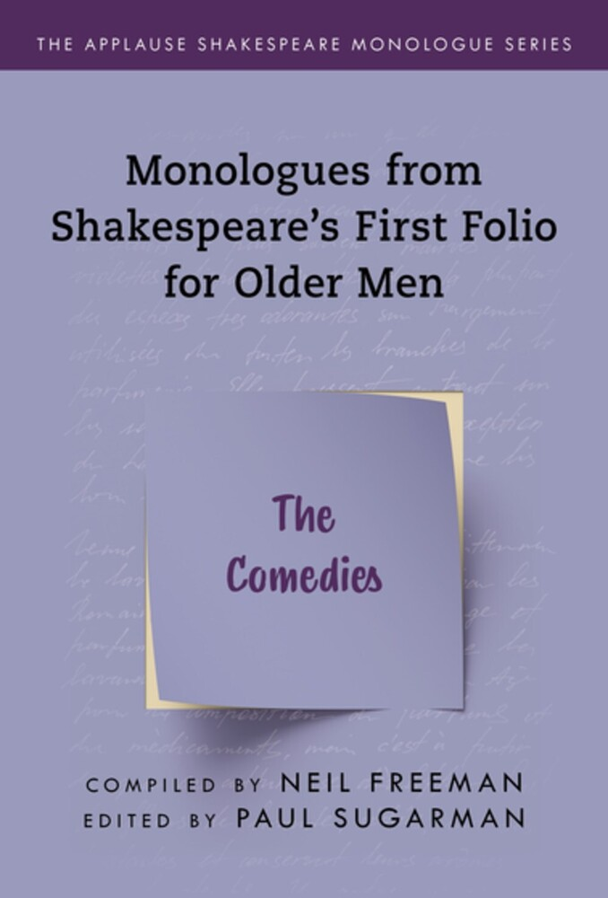Neil Freeman - Shakespeares Monologues For Older Men The Comedies