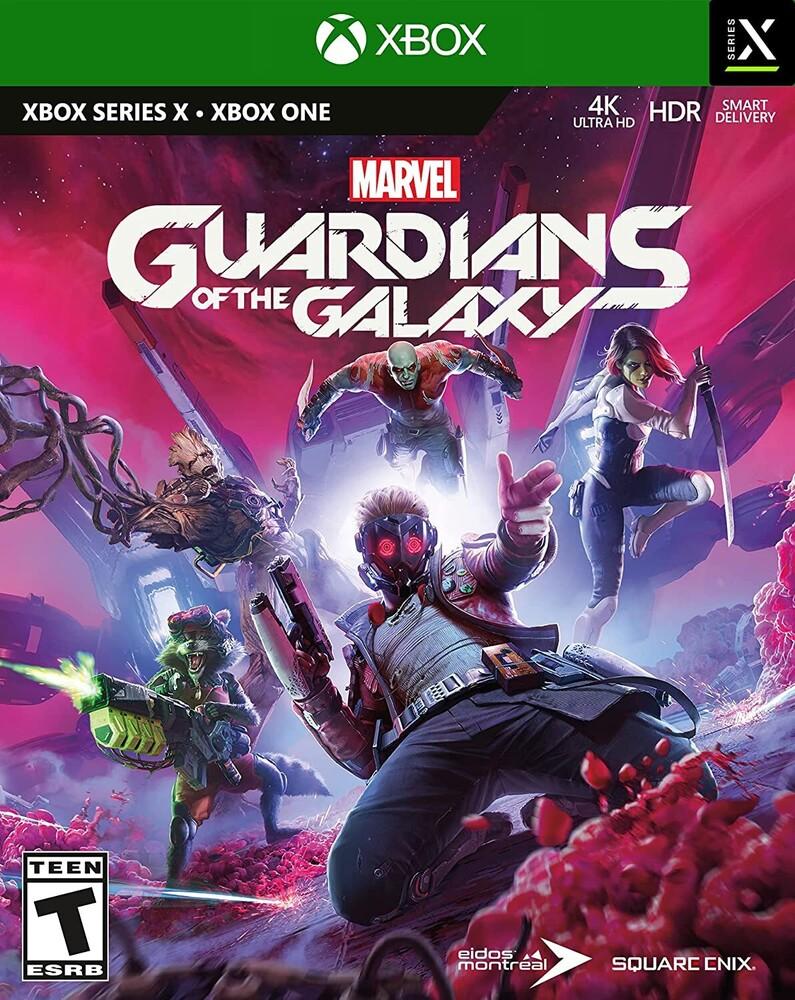 Xb1/Xbx Marvel's Guardians of the Galaxy - Marvel's Guardians of the Galaxy for Xbox One and Xbox Series X