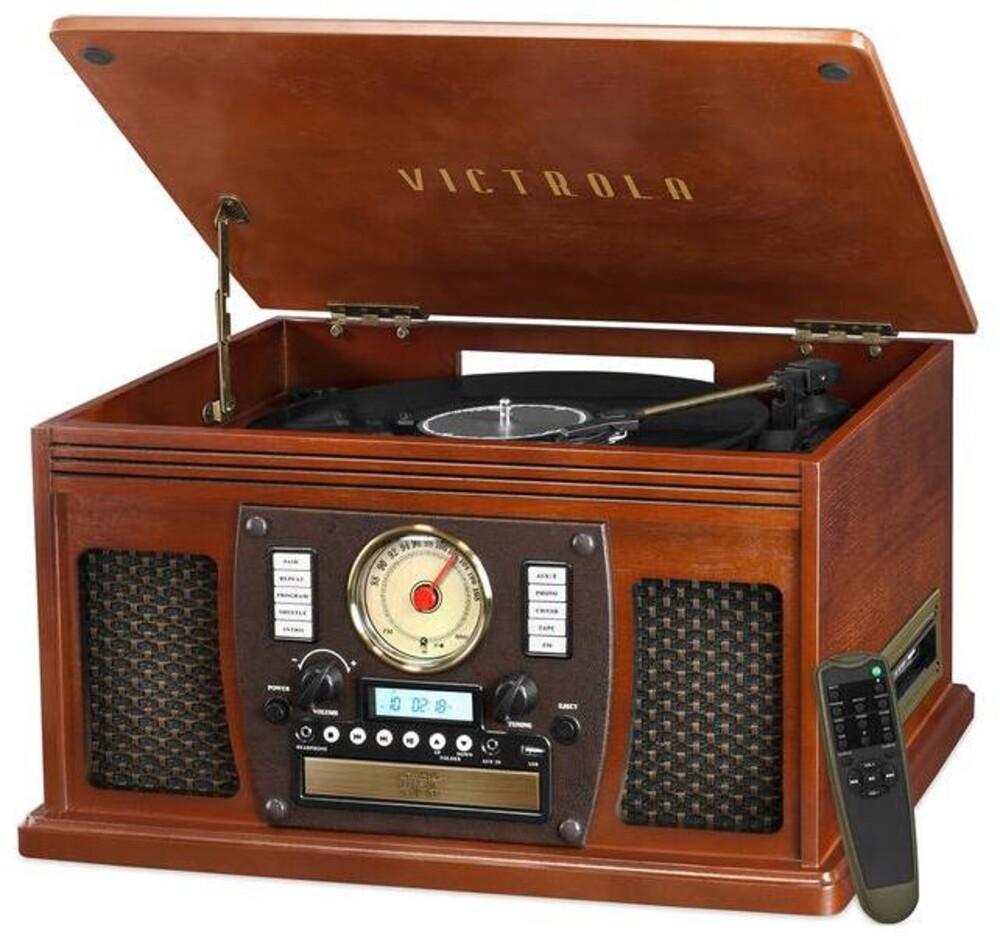 - Victrola Vta600bmah Navigator Bt 8/1 Music Ctr Mah